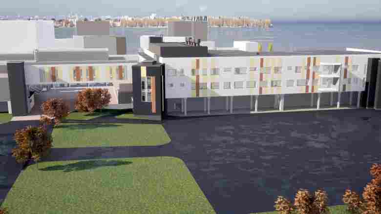 Psykiatriatalon rakennustyöt etenevät suunnitellusti